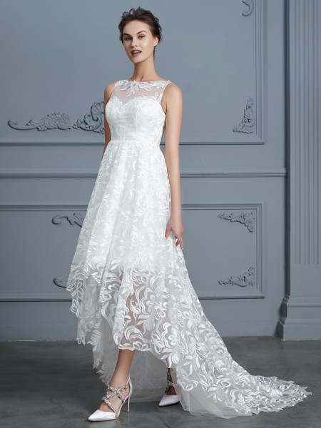 Lace Wedding Dresses, Cheap Lace Wedding Dresses - Wishyprom