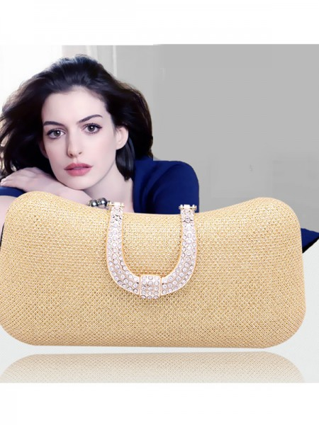 Mini Rhinestone Pillow Party/Evening Bags