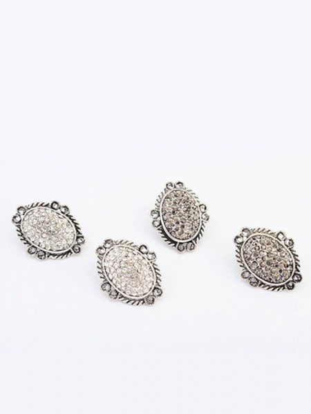 Occident Exotic Retro Oval Stud Hot Sale Earrings